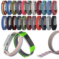 Sport Watch Band Armbänder Armband Nylon Loop Strap For Fitbit Alta HR ACE