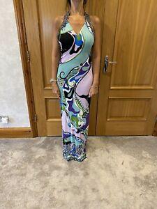 Pucci Long Evening Dress/UK 8