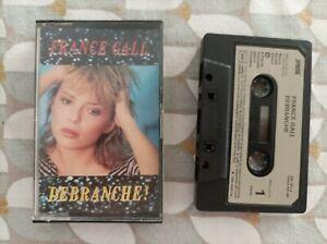 FRANCE GALL DEBRANCHE K7 CASSETTE AUDIO TAPE FRANCE 1984