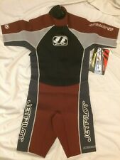 JetPilot Shorty Wet Suit Mens Medium Burnt Red