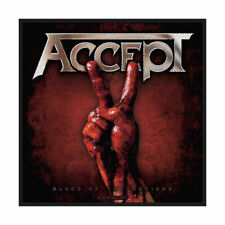 ACCEPT Blood Of The Nations Woven Sew On Patch Official Licensed Band Merch