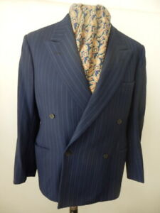 Vintage Burton 1953 double breasted pinstripe suit