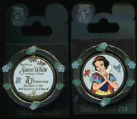 DLR Snow White and the Seven Dwarfs 70th Anniversary Spinner LE Disney Pin 58322