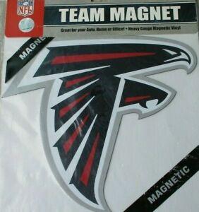 Atlanta Falcons 12 INCH LOGO MAGNET ! FREE SHIPPING ! FAST SHIPPING !