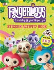 Fingerlings Sticker Activity Book - Paperback By DK - GOOD