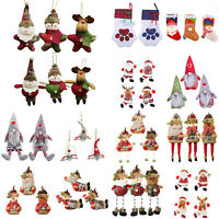 Merry Christmas Hanging Pendant Xmas Tree Ornament Toy Doll Hang Decor Gift
