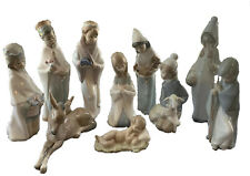 Lladro Retired Nativity Set (10 pieces). Excellent Condition With Original Boxes