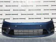 VW GOLF CADDY LIFE 2015-2019 FRONT BUMPER IN BLUE GENUINE [V877]
