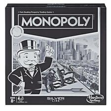 Monopoly Silver Line Exclusive Edition Game by Hasbro (Factory Sealed)