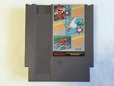 Super Mario Bros. / Duck Hunt / World Class Track Meet NES Nintendo System WORKS