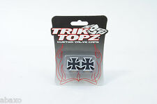 Trik Topz Iron Cross Valve Caps For Bicycle,Motorbike,Car Tire