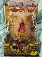 2009 HE-MAN CLASSICS MOTU MASTERS of the Universe ORKO and  PRINCE ADAM sealed