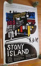 Stony Island Rae Dawn Chong ORIGINAL movie poster OS 27x41 1978 Richard Davis