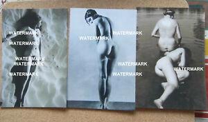 3 REPRO ART PHOTOS BY ERGY LANDAU HUNGARIAN FEMINIST PHOTOGRAPHER ART DECO