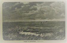 Steppe in Südrußland - aus Jugendgartenlaube 1889