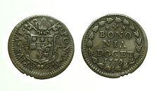 pcc1582_23) BOLOGNA  Pio VI (1775-1799) - Quattrino 1779