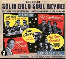 SOLID GOLD SOUL REVUE! - 3 CD BOX SET - SOUL, POP AND R & B - 60 HOT HOTS
