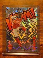 Nicolas Pepe 2020-21 Panini Prizm Premier League Kaboom EPL Arsenal