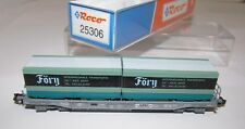 Roco Spur N 25306, Taschenwagen SBB, Wechselpritschen Föry,lesen,  OVP. XR0277X