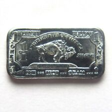 1g 1 gram USA American Buffalo .999 Fine Molybdenum Bullion Bar