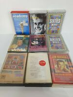 Vintage Retro 60's Music Cassettes Tapes Bundle x 9 Jim Reeves Billy Fury Lonnie