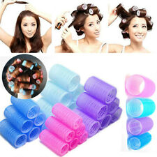 High Soft DIY 6pcs Large Hair Salon Rollers Curlers Tools Hairdressing tool