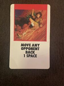 Fireball Island Board Game Replacement Card Piece Move Any Opponent Back 1 Space