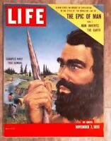 LIFE MAGAZINE - The Epic Of Man Europe's First True Human - November 7, 1955