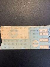 U2 Joshua Tree Tour 1987 Original Ticket Worcester Centrum Ma
