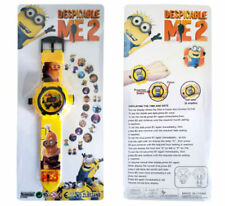 NEW DESPICABLE ME MINION KID ELECTRONIC DIGITAL DISPLAY WRIST WATCH PROJECTOR