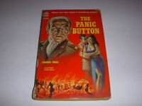 THE PANIC BUTTON by Charles Fogg, Ace Book #D-438, 1960, Vintage Paperback!