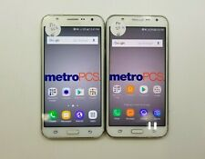 Lot of 2 Samsung Galaxy J7 J700T1 MetroPCS Check IMEI Poor Condition RJ-132