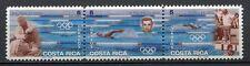 35412) COSTA RICA 1996 MNH** Olympic G. Atlanta strip of 3