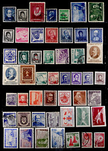 CHILE: 1950'S - 60'S STAMP COLLECTION