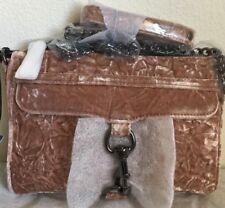 NWT Authentic Rebecca Minkoff Velvet Mini M.A.C Crossbody Bag $175 Berry Smoothi