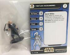 Star Wars Rebel Storm 59/60 Twi'lek Scoundrel (C) Miniature