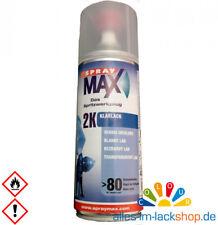 2K Klarlack Spraydose Lackspray 400ml Autolack glänzend SprayMax Lack Überzug