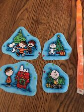 Snoopy Charlie Brown Christmas  Fabric Iron On Appliqués! SO CUTE #3