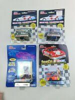 Racing Champions 1:64 NASCAR Lot Of  4 Die Cast Diecast Vintage B4