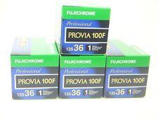 4 x FUJICHROME PROVIA 100F 35mm 36 EXP CHEAP SLIDE FILM by 1st CLASS ROYAL MAIL