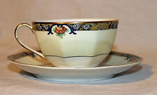 """Theodore Haviland """"Chenonceaux"""" Cup and Saucer"""