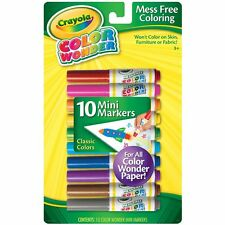 Crayola Color Wonder Mess-Free Mini Markers 10/Pkg