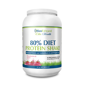 Nutrition Diet Protein Shake Food Supplement for Weight Loss Strawberry & Cream
