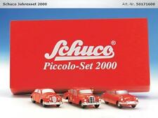 Schuco Piccolo Year Set 2000 Age 01716 Jaguar, Mercedes, CITROEN