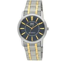 Q&Q Mens TT Quartz Dress Metal Bracelet Q244-402Y Wristwatch New