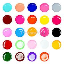 24 pezzi SOLIDO PURO diversi colore GEL UV di costruzione Crema Set per nail art