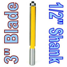 "1 pc 1/2"" SH 3"" Extra Long Flush Trim Router Bit sct-888"