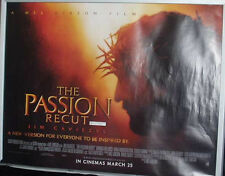 Cinema Poster: PASSION RECUT, THE 2004 (Quad) Jim Caviezel Mel Gibson