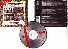 I LOVE NEW COUNTRY Volume 2 compil (CD) 1989
