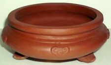 Classic 6 1/2 Inch Round Unglazed Bonsai Tree Pot